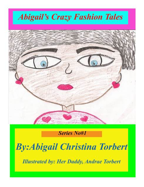 My daughter's new book series...