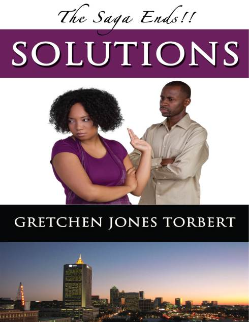 I am finishing up book three of Solutions. The SAGA is about to end...