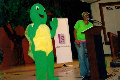 Tyler the Talking Turtle making a difference in the lives of our youth!
