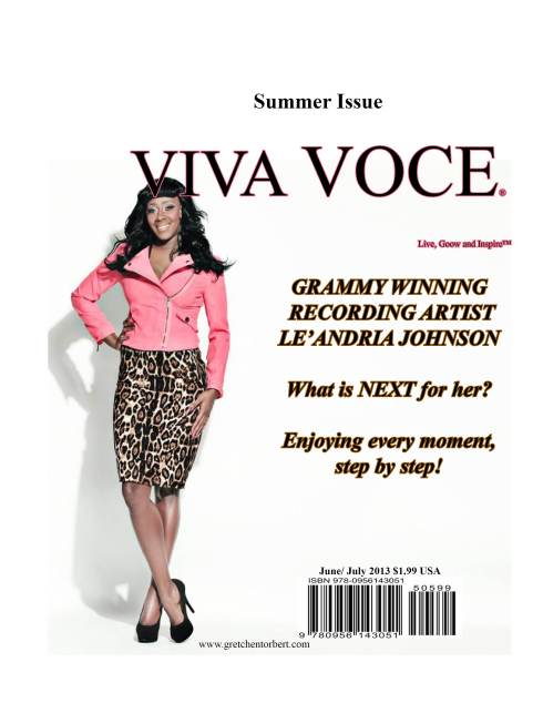 Viva Voce Magazine features...Le'Andria Johnson
